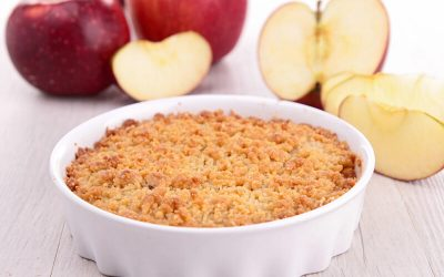 Apple and Ginger Crumble
