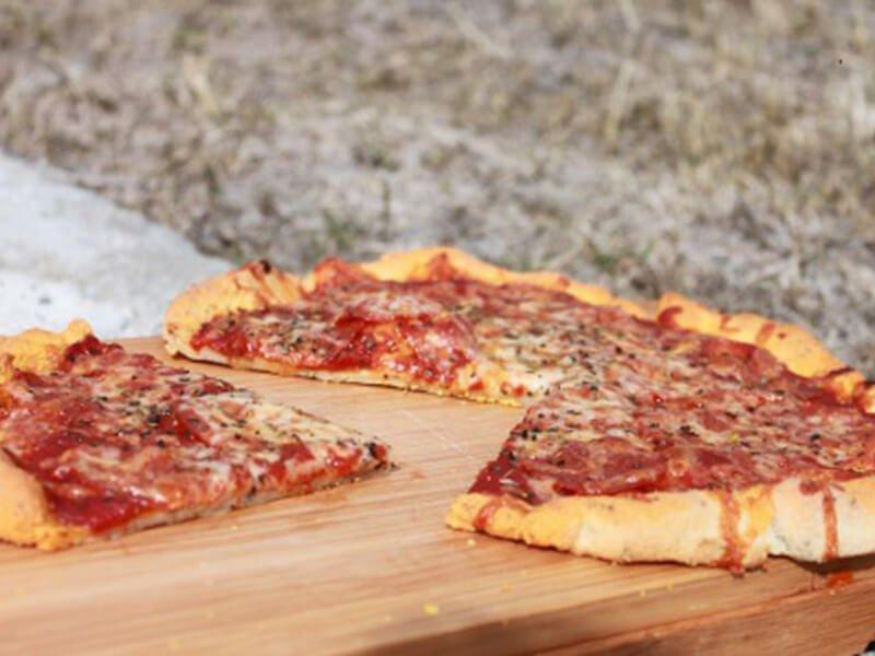 Classic Herb Pizza Crust