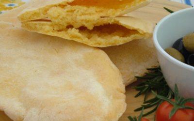 Corn Pitta Breads