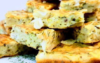 Greek Style Courgette Slice