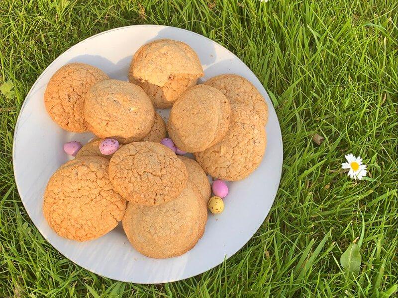 Mini Egg Biscuits
