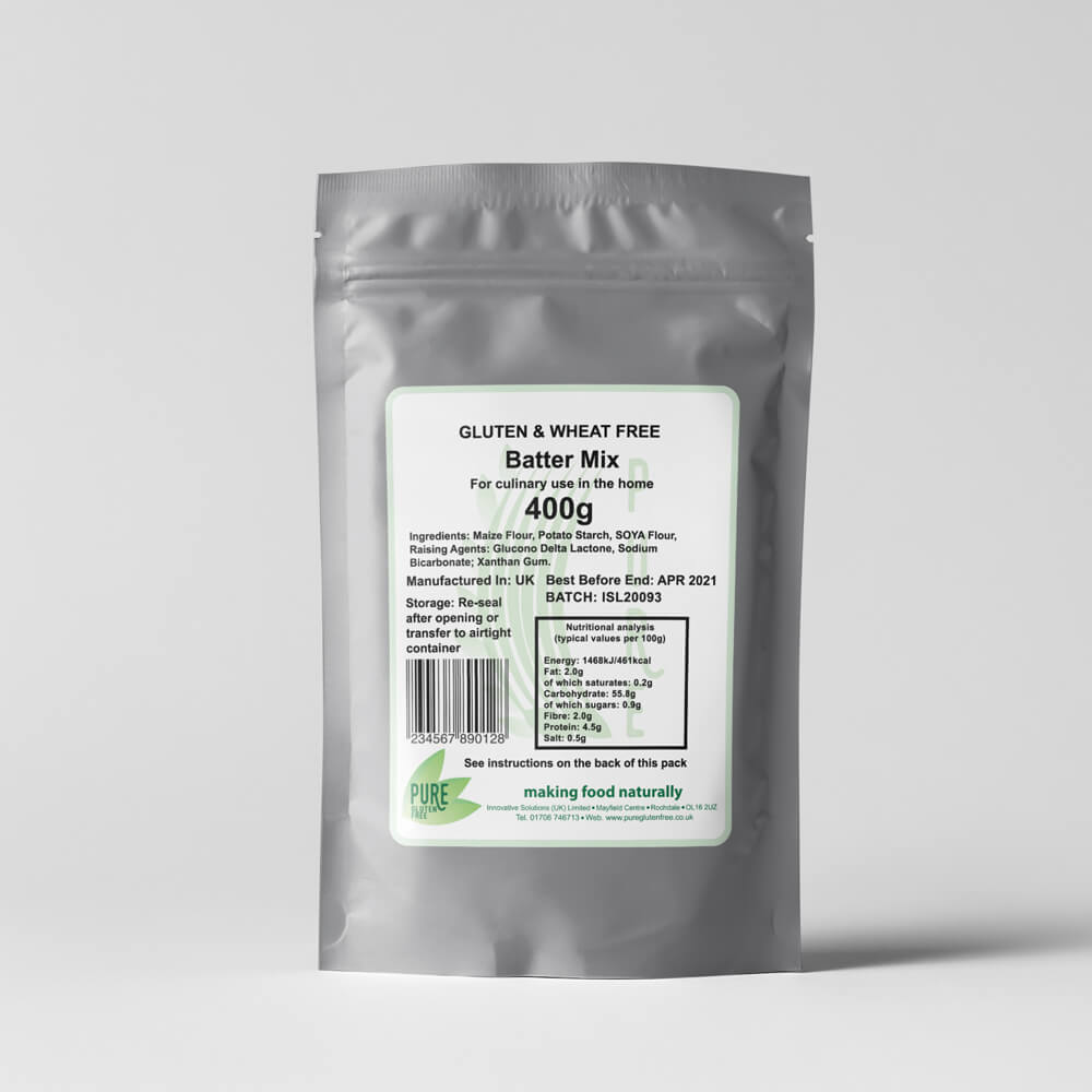 Pure Gluten Free Batter Mix 400g