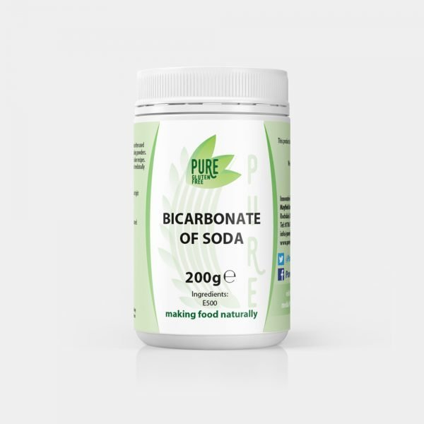 Pure Gluten Free Bicarbonate of Soda 200g
