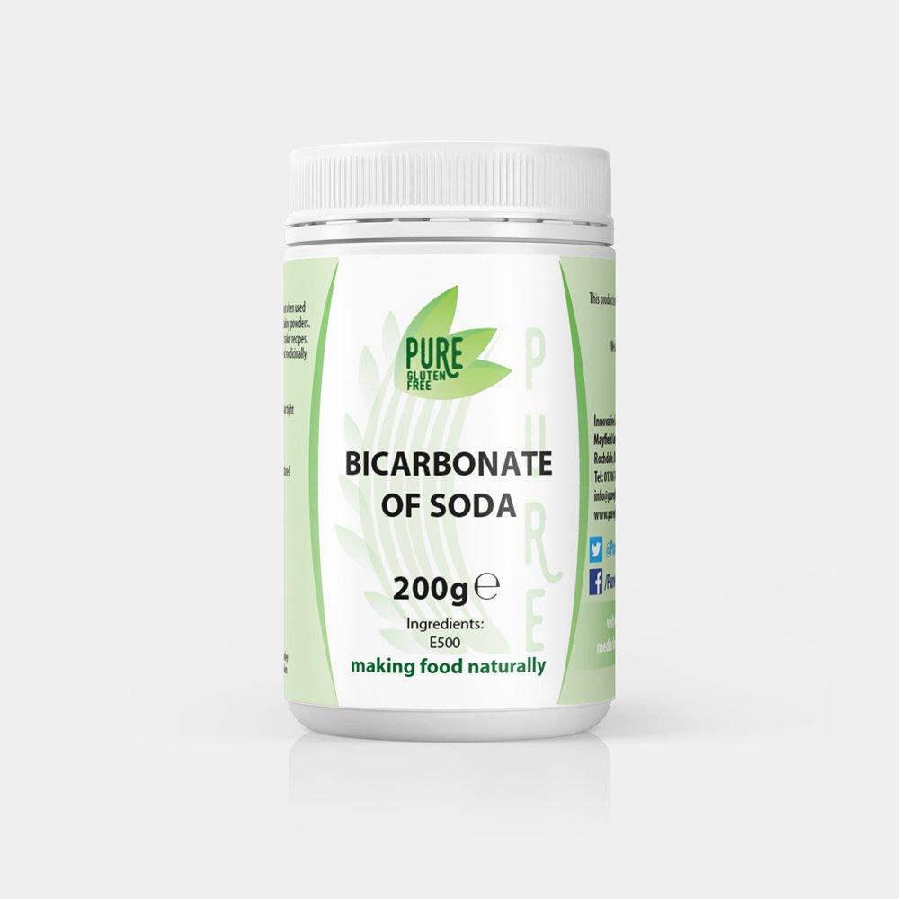 Pure Gluten Free Bicarbonate of Soda 200g