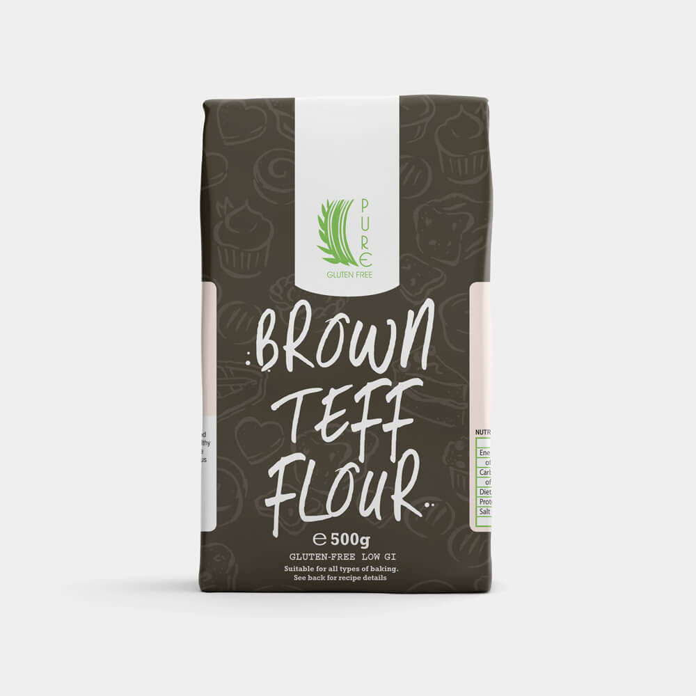 Pure Gluten Free Brown Teff Flour