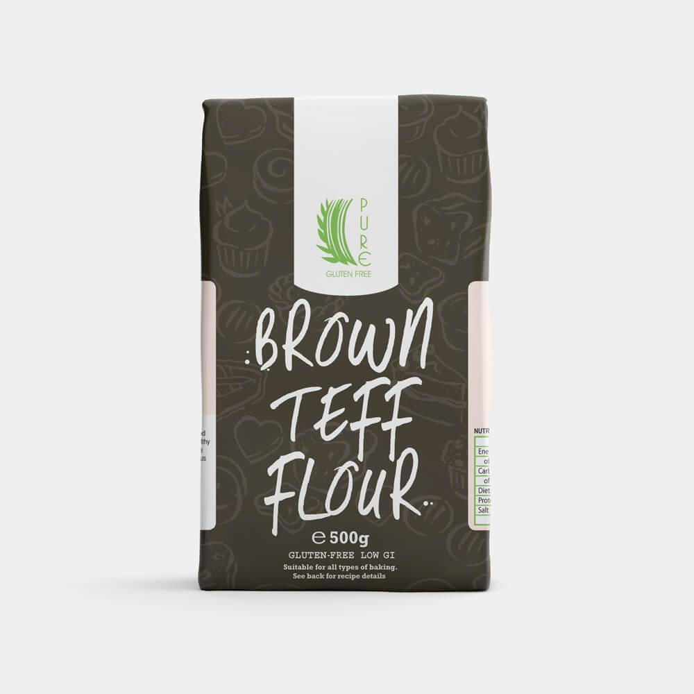 Pure Gluten Free Brown Teff Flour