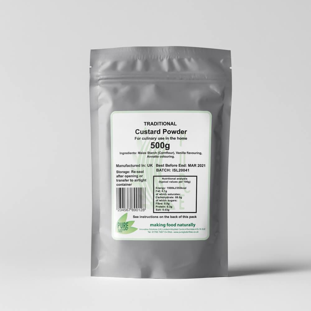 Pure Gluten Free Custard Powder 500g