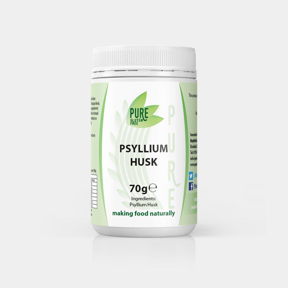 Pure Gluten Free Psyllium Husk 70g