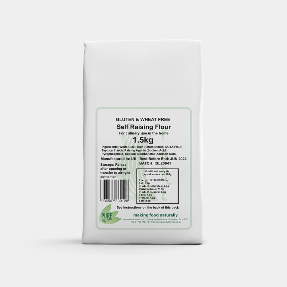 Pure Gluten Free Self Raising Flour