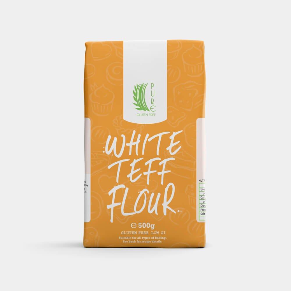 Pure Gluten Free White Teff Flour